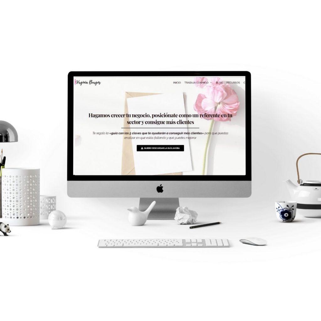 Diseño web estratégico - Páginas web